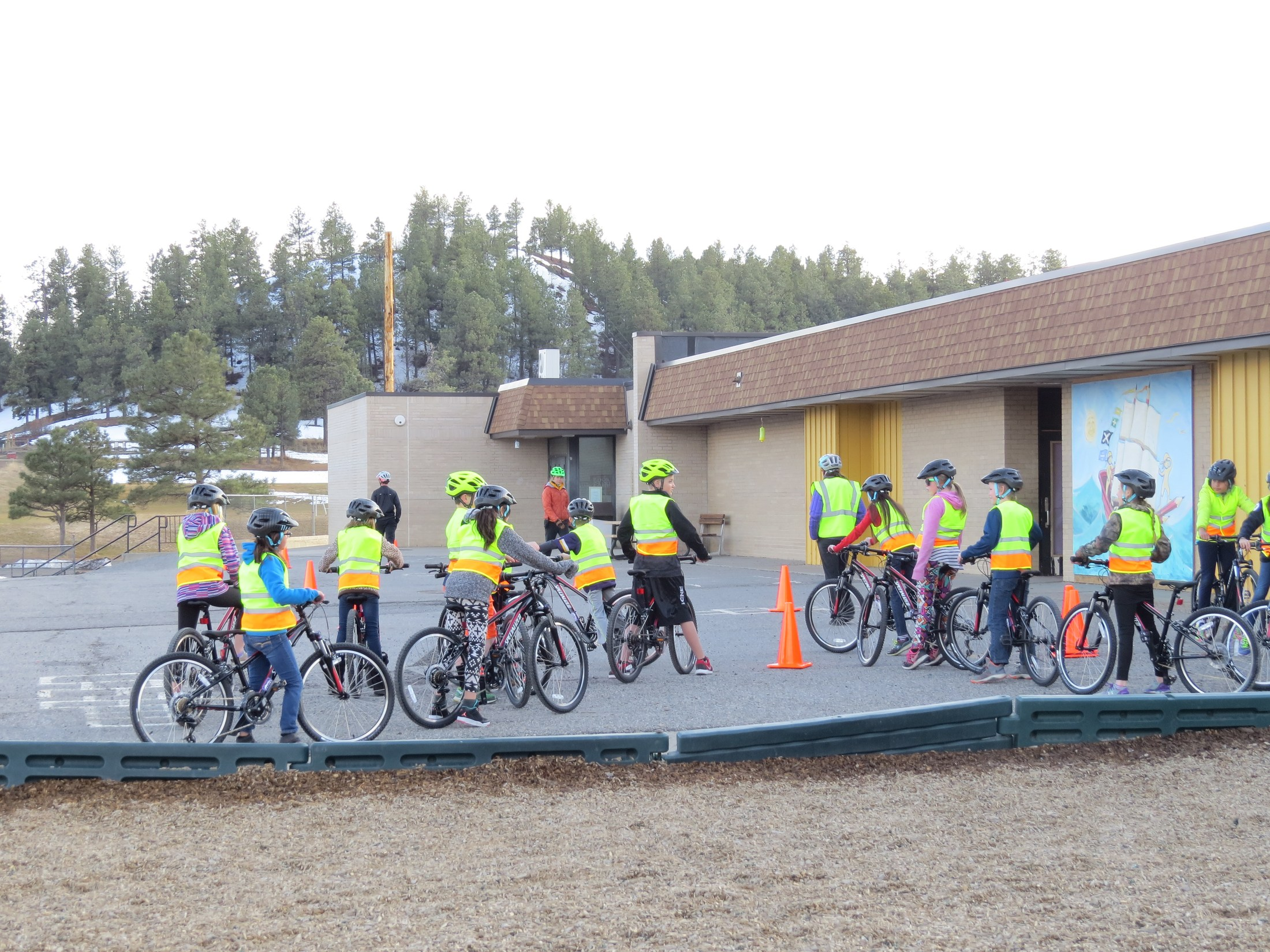 CATCH kids learning bike skills