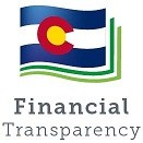 CDE Financial Transparency Icon for School Websites