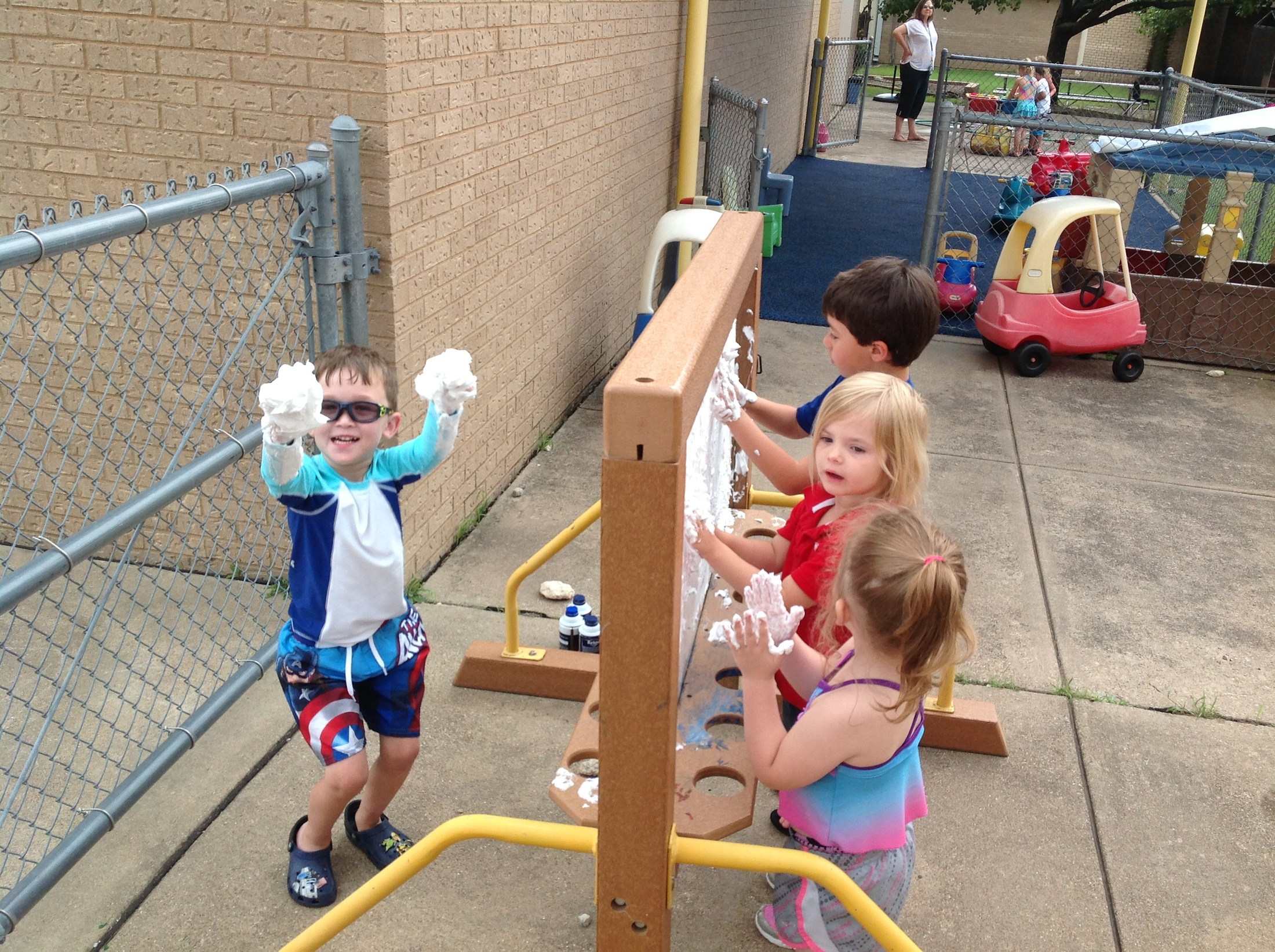 Students Learning through Play