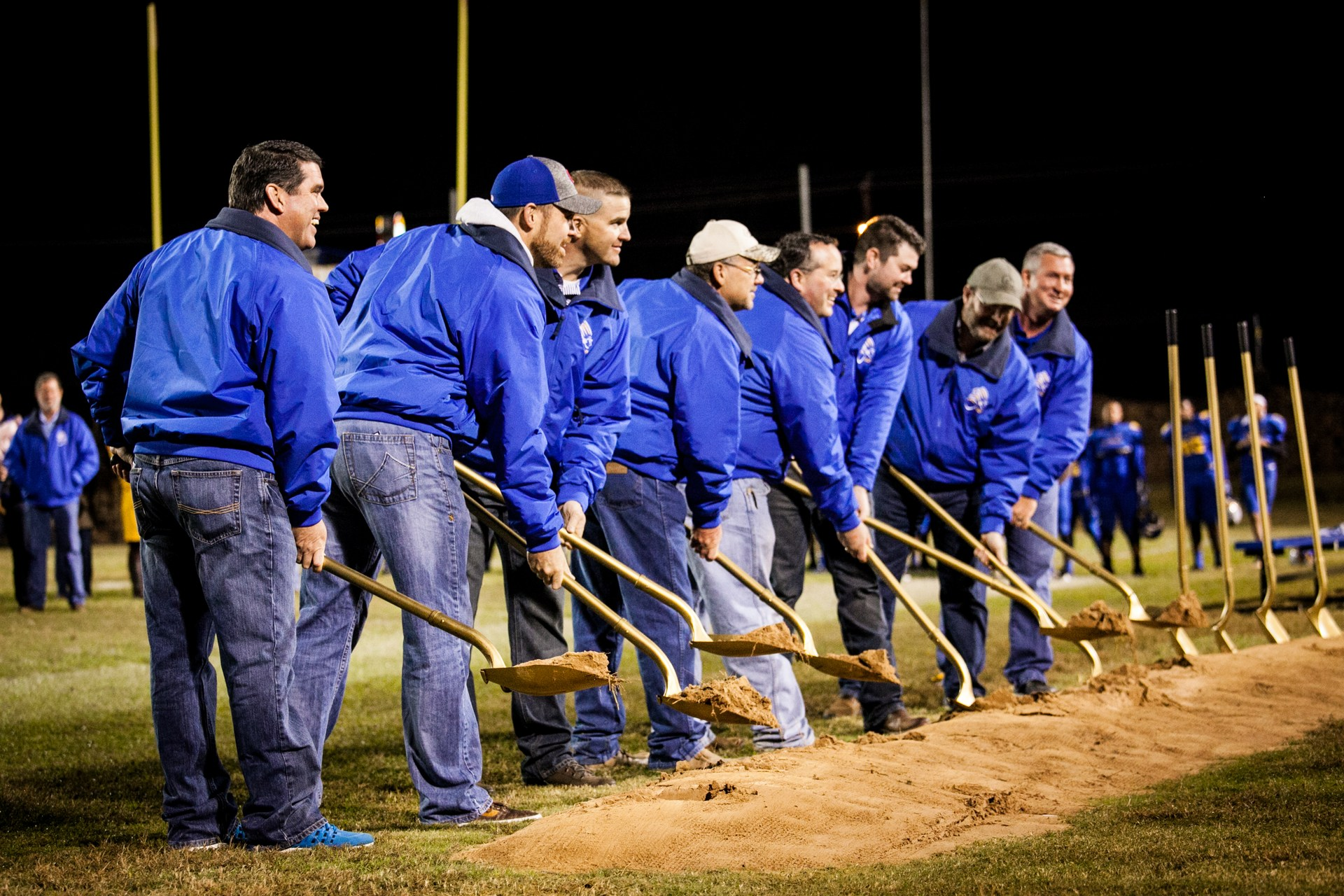 School Board breaking ground