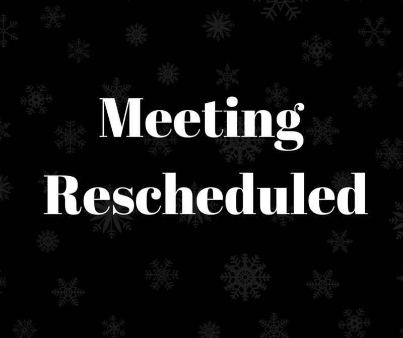 BOE meeting postponed.