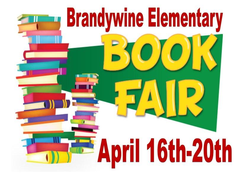 Brandywine Elementary Spring Book Fair! Thumbnail Image