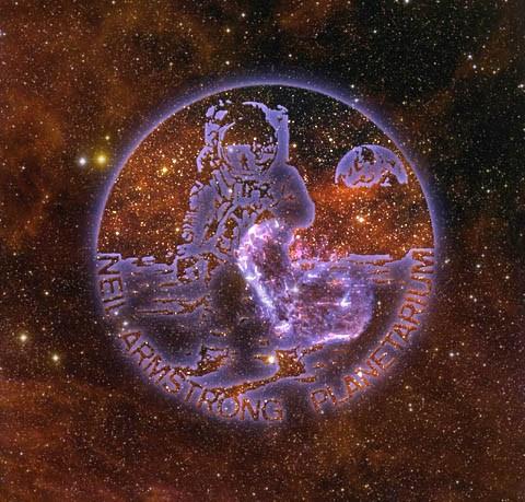 Neil Armstrong Planetarium logo