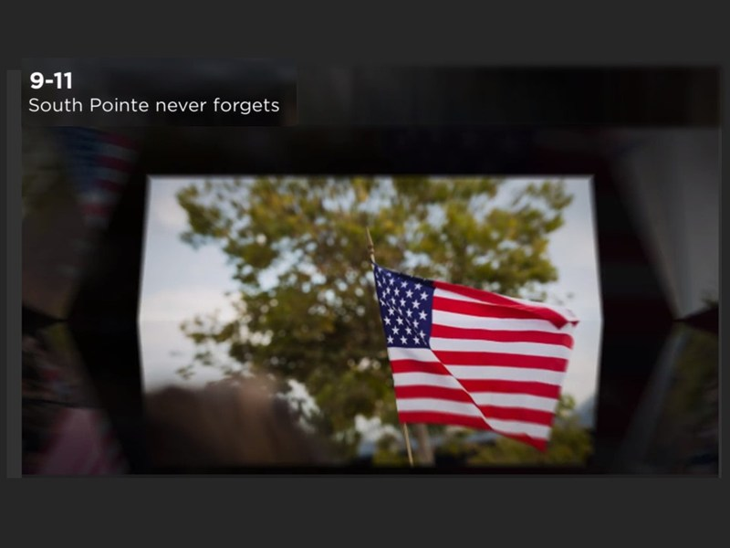 All-School Flag Salute to Commemorate September 11th Video Featured Photo