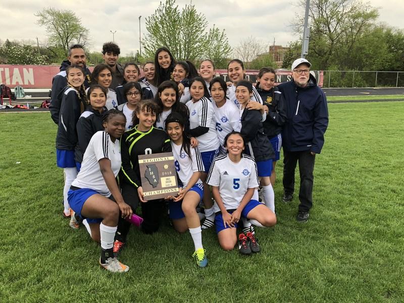 Girls' Soccer Wins Regional Championship Featured Photo