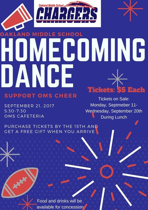 Homecoming Dance - Thursday, September 21, 2017 Thumbnail Image
