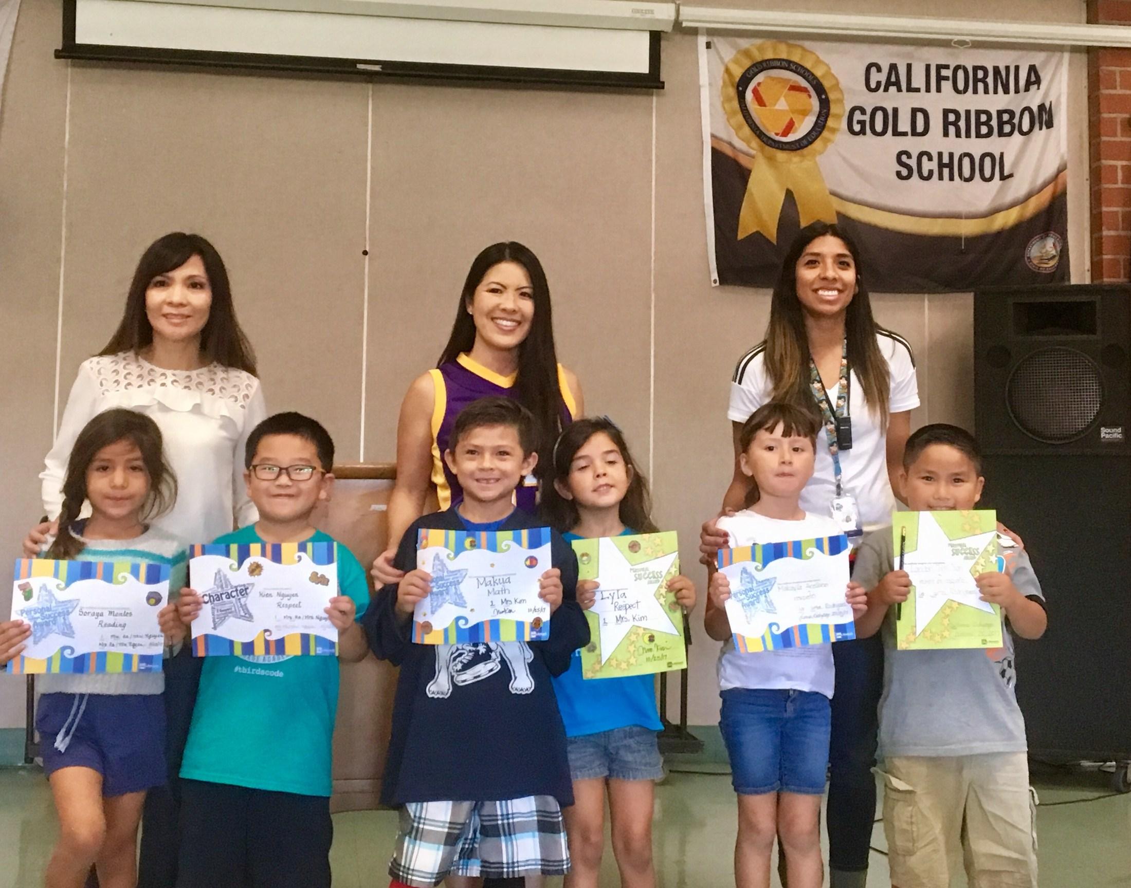 First Grade Winners