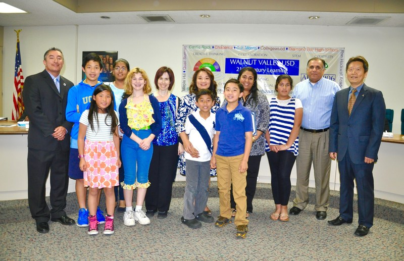 WVUSD Honors Suzanne Students and Community Members Thumbnail Image
