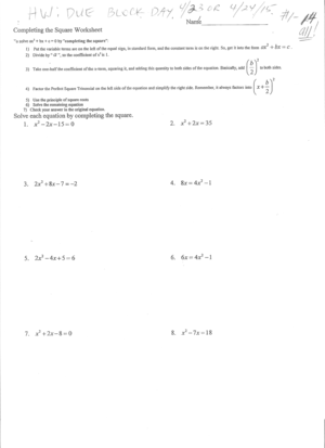 additionally Hindenburg Worksheets   PDF in addition pleting the Square Worksheet  pdf  with Answer Key  25 questions likewise Anger Management Worksheets Pdf Fresh Worksheet Project For Adults furthermore  additionally pleting the Square Worksheets likewise Finding Turning Points using  pleting the Square   YouTube moreover Use the Quadratic to solve the equations  Quadratic further Math Worksheets in addition  as well Grade Math 154b  pleting The Square Worksheet ly Unusual likewise  moreover Solve By  pleting The Square Worksheet Pdf Kidz Activities besides Hindenburg Worksheets   PDF together with Clayton Valley Charter High as well . on completing the square worksheet pdf
