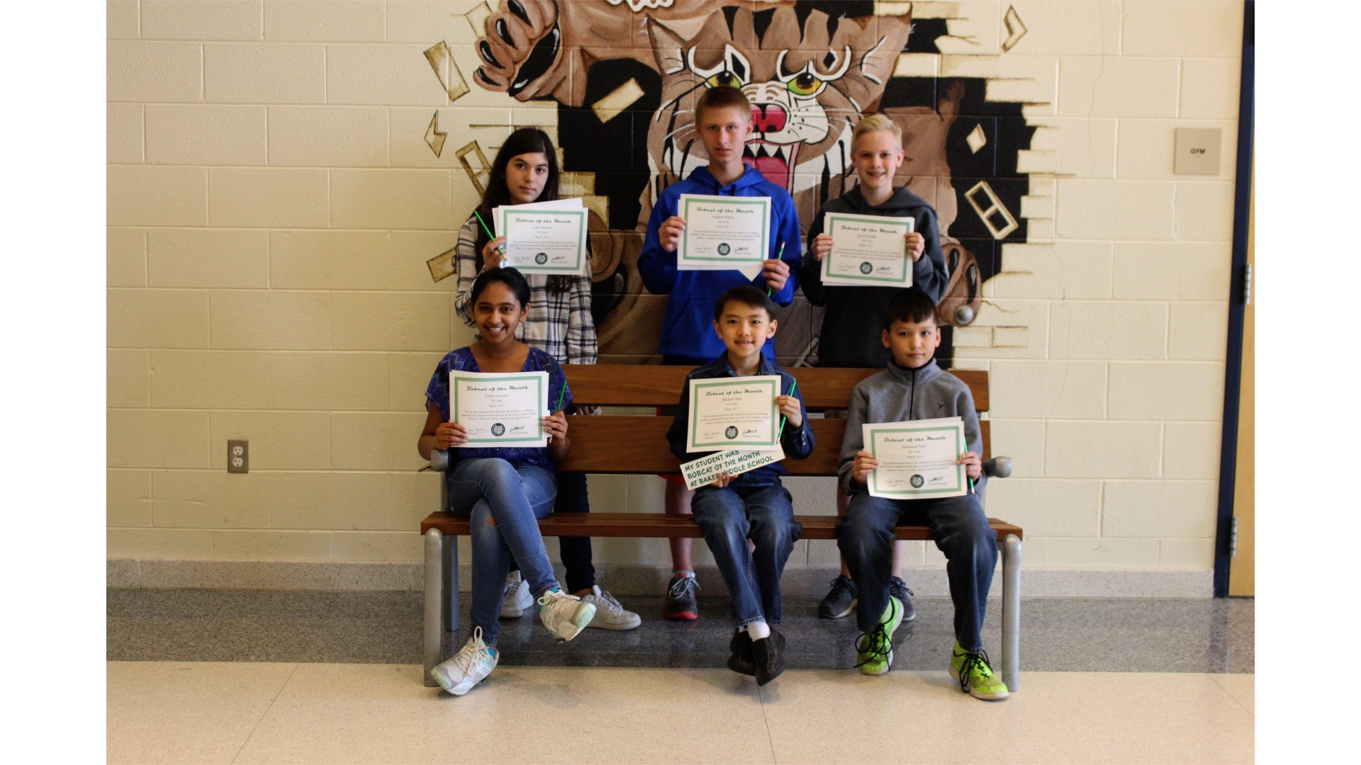 March 2017 Bobcats of the Month