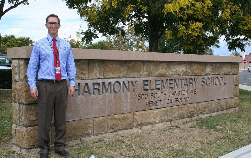 Joseph Pollock was chosen as the Faculty Focus Friday employee for elementary sites.