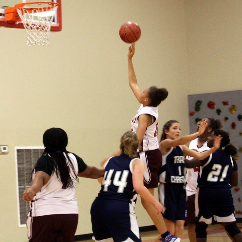 GIRLS BASKETBALL: Tekoa Academy defeated Texas Christian in the final game of the season, 44-32. (Feb. 13) Featured Photo