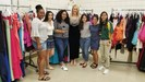 Channel 17's Tabatha Mills and West High students on Sunrise!