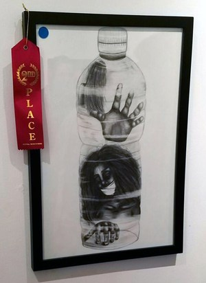 Award winning student art.