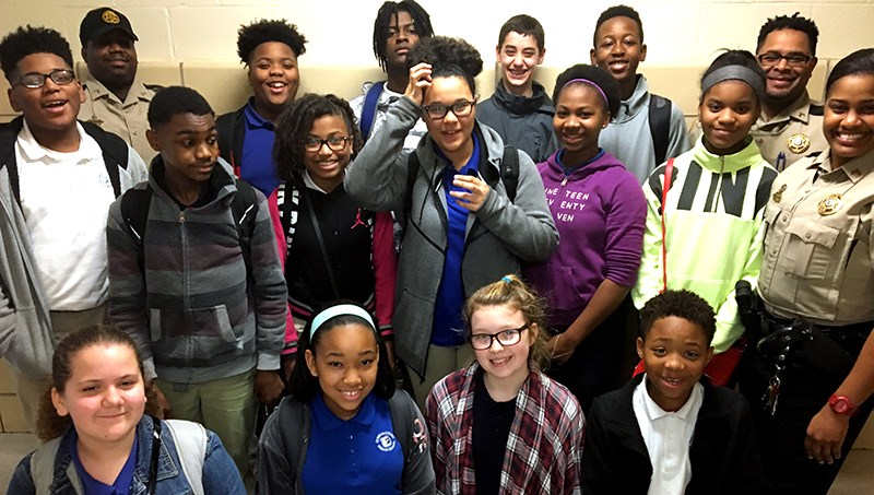 Robert Lewis Magnet School 7th and 8th Grade Soar Students Thumbnail Image