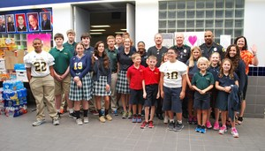 Dallas Academy Students, Administrators and officers.JPG