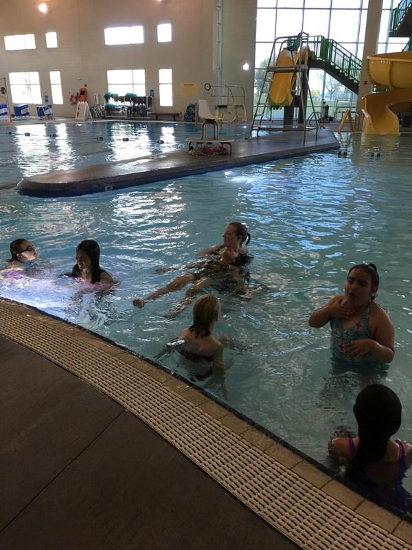 LC swimming season begins! Thumbnail Image