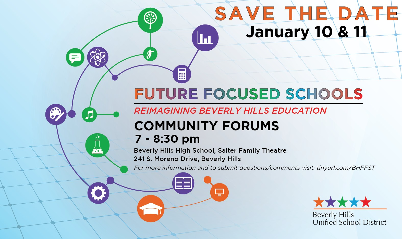 Community Forum Save the Date