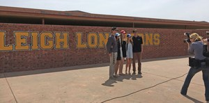 Five student-athletes from Leigh High School
