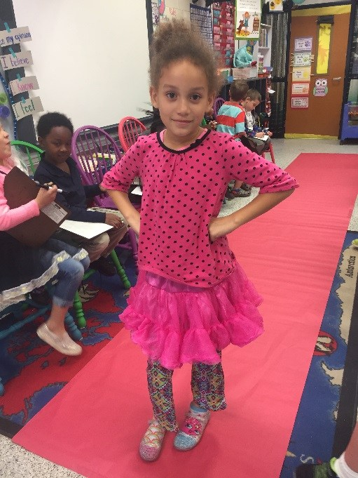 Students Strike a Pose for Adjectives! Featured Photo
