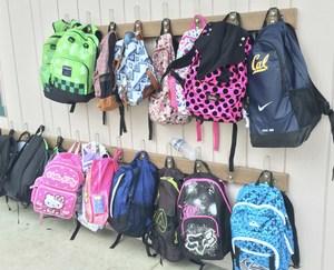 Back to School:  backpacks