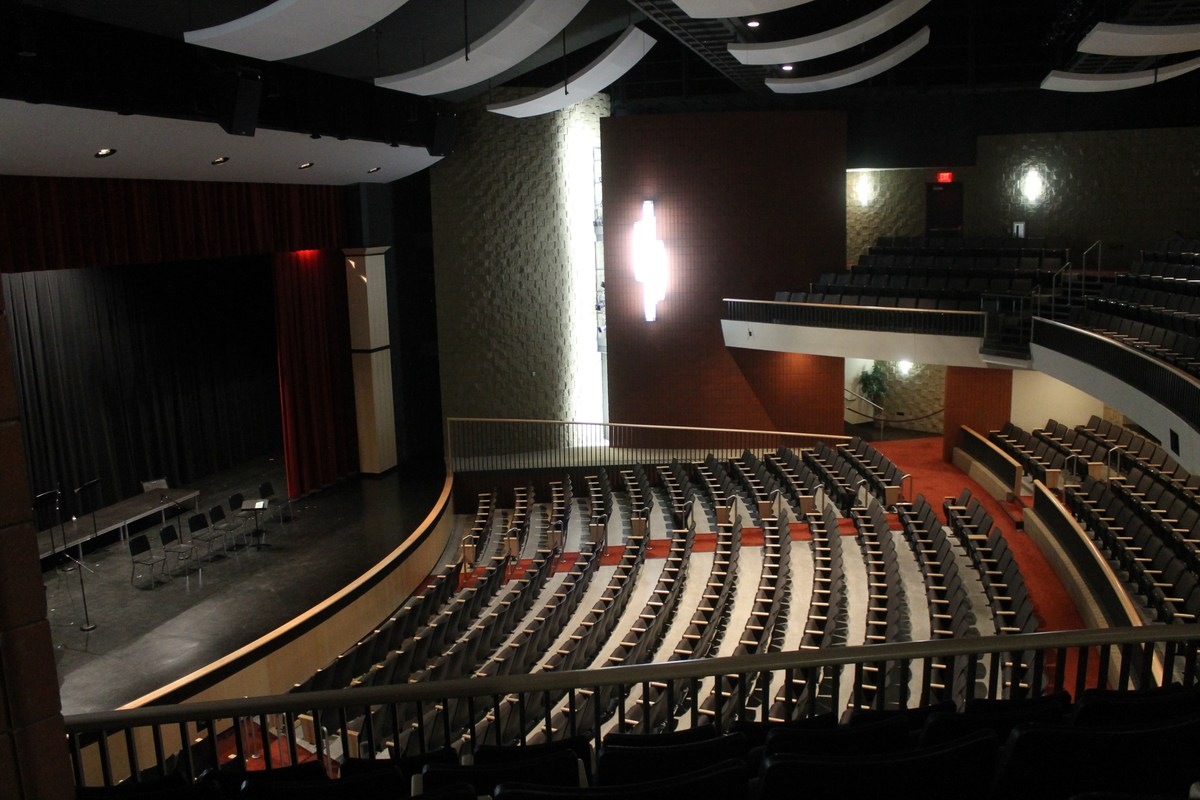 Thornapple Kellogg High School's auditorium is a great place for concerts, plays and other special events.