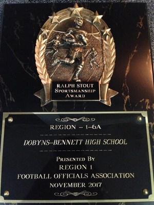 Ralph Stout Sportsmanship Award