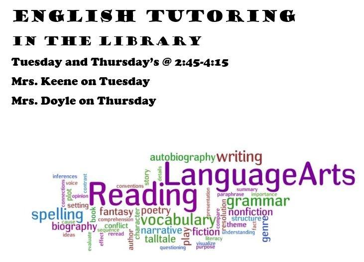 English Tutoring times