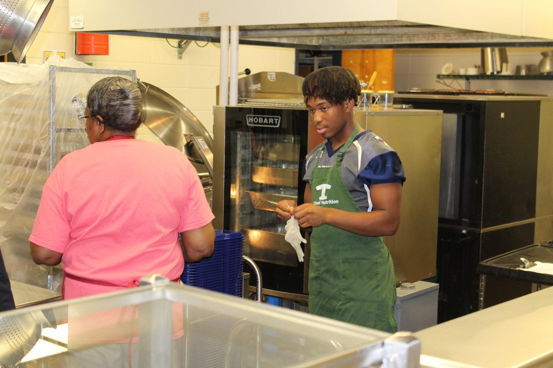 G.O. Bailey celebrates National School Lunch Week