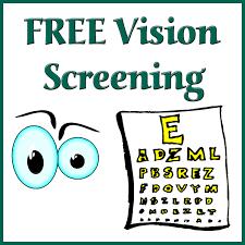 Vision Screening Coming Soon Thumbnail Image
