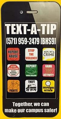 Text a Tip!