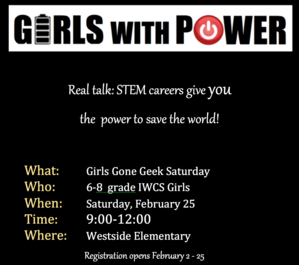 Girls Gone Geek Registration