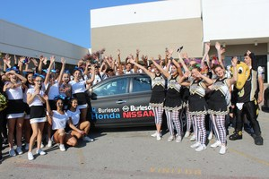 CHS students with car