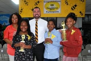 W.G. Nunn Spelling Bee Winners