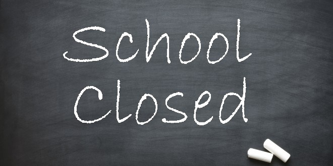 Image result for image for school closed
