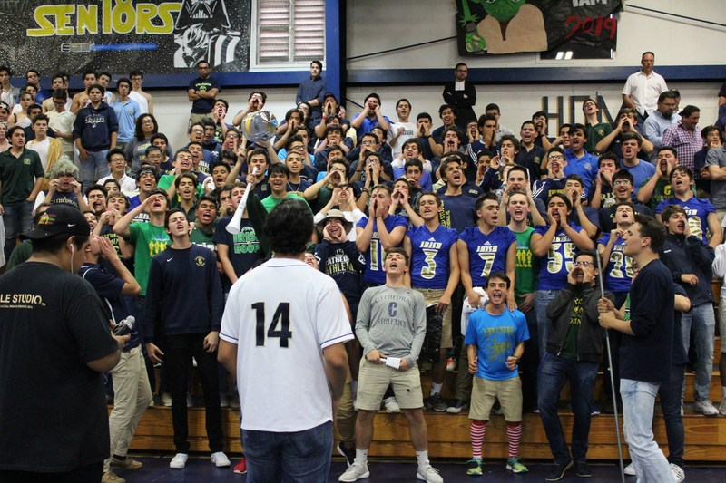Cathedral Homecoming Pep Rally Wakes Up The Echoes Featured Photo