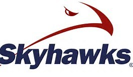 SKYHAWKS WITH HAWK LOGO