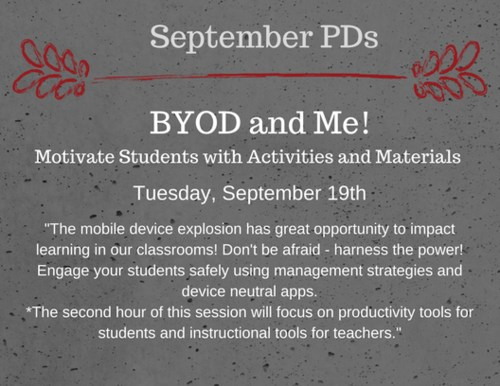 BYOD and Me!
