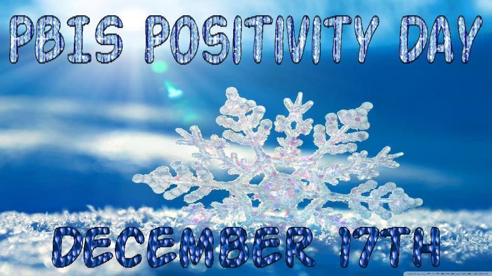 Winter Positivity Day Promotion