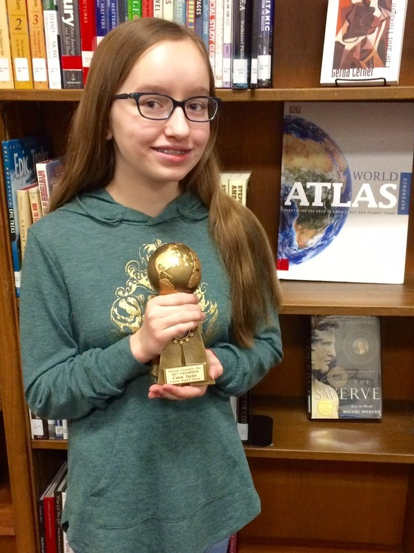 State Geography Bee Participant Thumbnail Image