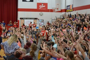 Picture of GMS student body