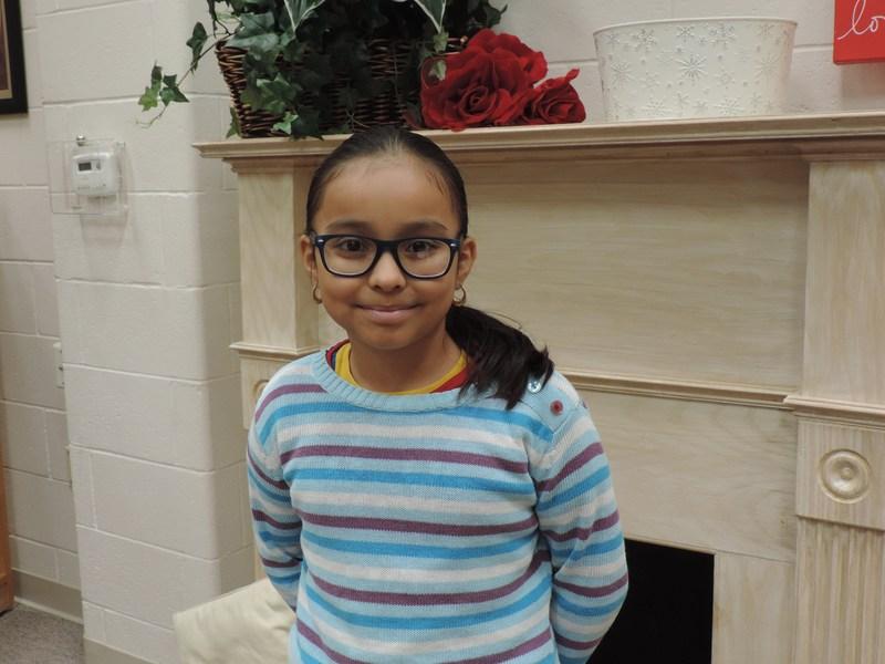 Maria Ramirez is our 12th Tiger Star Reader! Thumbnail Image