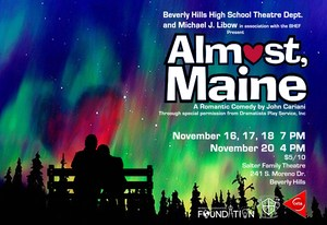 POSTER THEATRE DEPT. ALMOST, MAINE PERFORMANCE