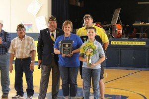 Teacher of teh Year VFW