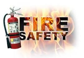 Fire Safety pic with fire exstinguisher
