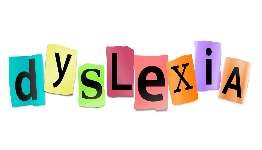 dyslexia letter graphic