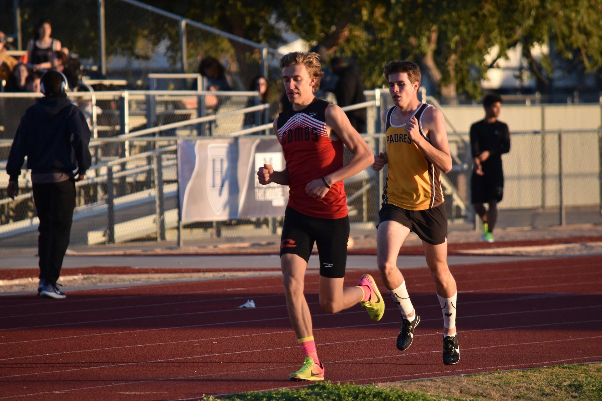 Boys distance race