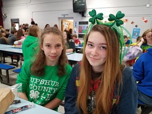 St. Patrick's Day at B-U Middle