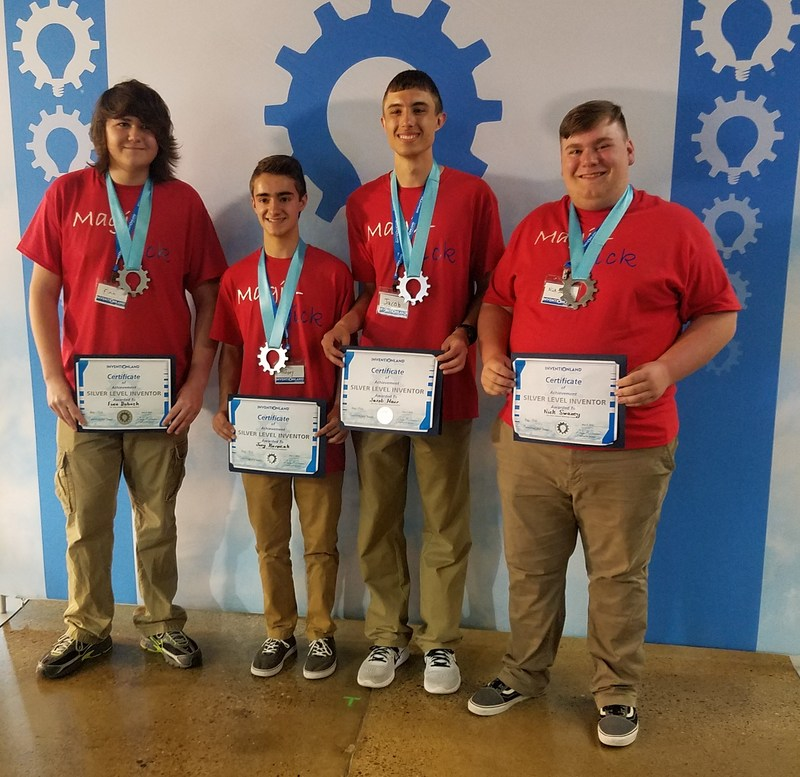 Carmichaels HS and MS students take 1st and 2nd in Pittsburgh Regional Inventionland Competition Thumbnail Image