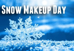 Snow Makeup Day for March 14, 2017 is June 1, 2017. This will be a full day for students.